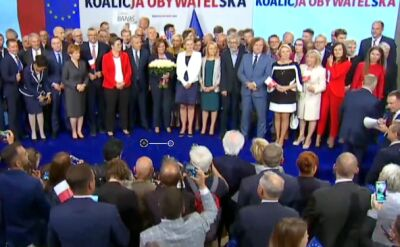 """Prezentacja """"jedynek"""" sejmowych i kandydatów do Sejmu i Senatu KO"""