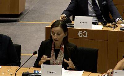 Sylwia Spurek mówiła w europarlamencie o aferze hejterskiej w Ministerstwie Sprawiedliwości