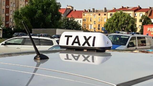 Nie chciał zapłacić za kurs i zniszczył taksówkę