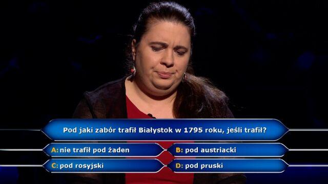 Białystok i III rozbiór Polski w pytaniu  z