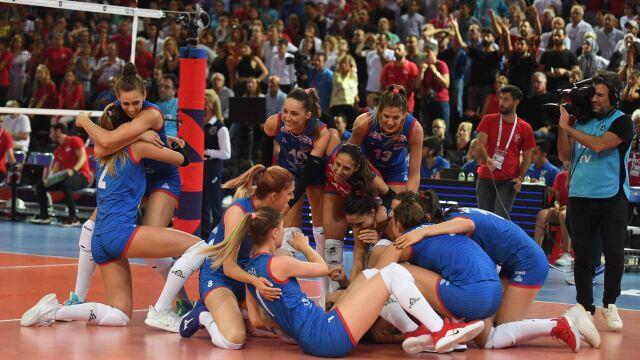 Fenomenalna walka w finale. Serbki obroniły mistrzostwo Europy