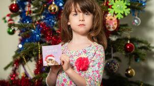 Dramatyczny apel na świątecznej kartce. Sześciolatka poruszyła lawinę