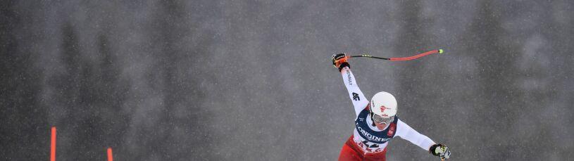Poważny upadek najlepszej polskiej alpejki na treningu.