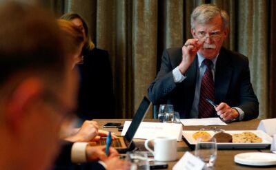 John Bolton zwolniony z funkcji doradcy do spraw bezpieczeństwa narodowego