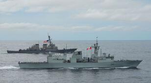 Kanadyjski okręt przepłynął Cieśniną Tajwańską.