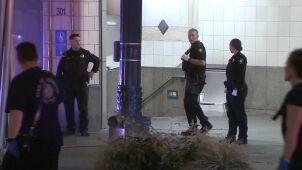 Strzały na stacji kolejowej w Seattle. Napastnik na wolności