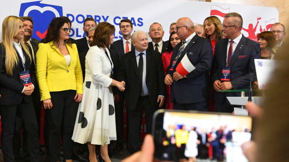 Kaczyński: siły, które nam się przeciwstawiają, chcą cofnąć Polaków do postkomunizmu