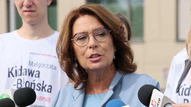 """Kidawa-Błońska o """"Pakcie dla Kobiet"""": propozycje Koalicji Obywatelskiej wychodzą poza to, co proponuje lewica"""