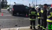 Zderzenie z pojazdem SOP w Rzgowie