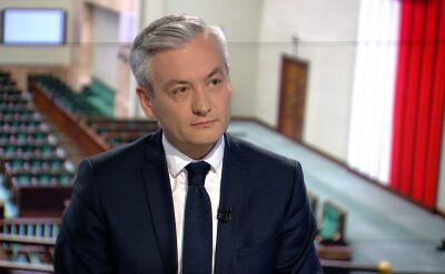 """Robert Biedroń w """"Faktach po Faktach"""" o tworzeniu lewicowej koalicji"""