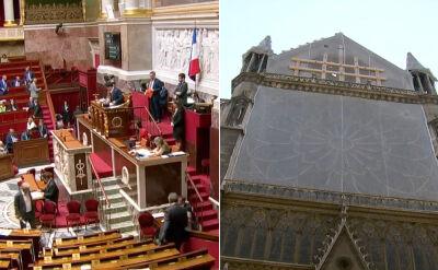 Francuski parlament przyjął projekt zmian w przepisach w sprawie katedry Notre Dame