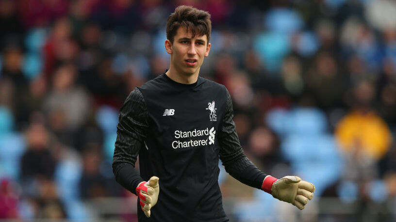 Grabara przedłużył kontrakt z Liverpoolem. Od razu został wypożyczony