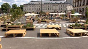 Kontrowersje wokół warszawskiej strefy relaksu