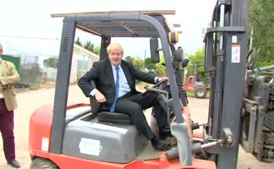 Boris Johnson liderem na premiera Wielkiej Brytanii