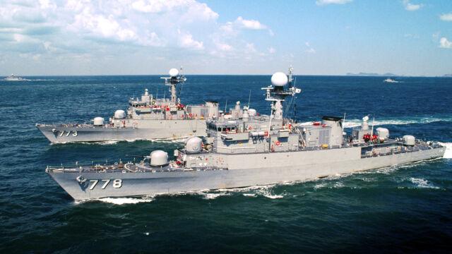 Chiński statek i duża eskorta. Wietnamczycy mają być