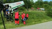 Ranni w wypadku na zakopiance transportowani do szpitali