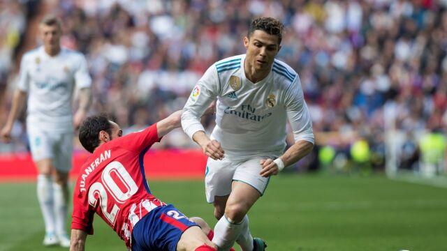 Ronaldo huknął, Atletico się podniosło. Cieszy się Barcelona
