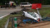 Wypadek w Rudzie Malenieckiej. Nie żyją dwie osoby