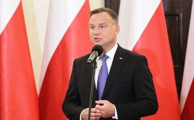 """""""Prezydent Andrzej Duda chciałby, żeby wybory odbyły się 13 października"""""""
