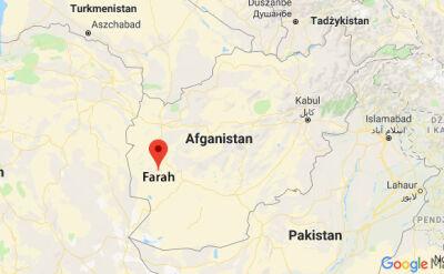Do zamachu doszło w prowincji Farah