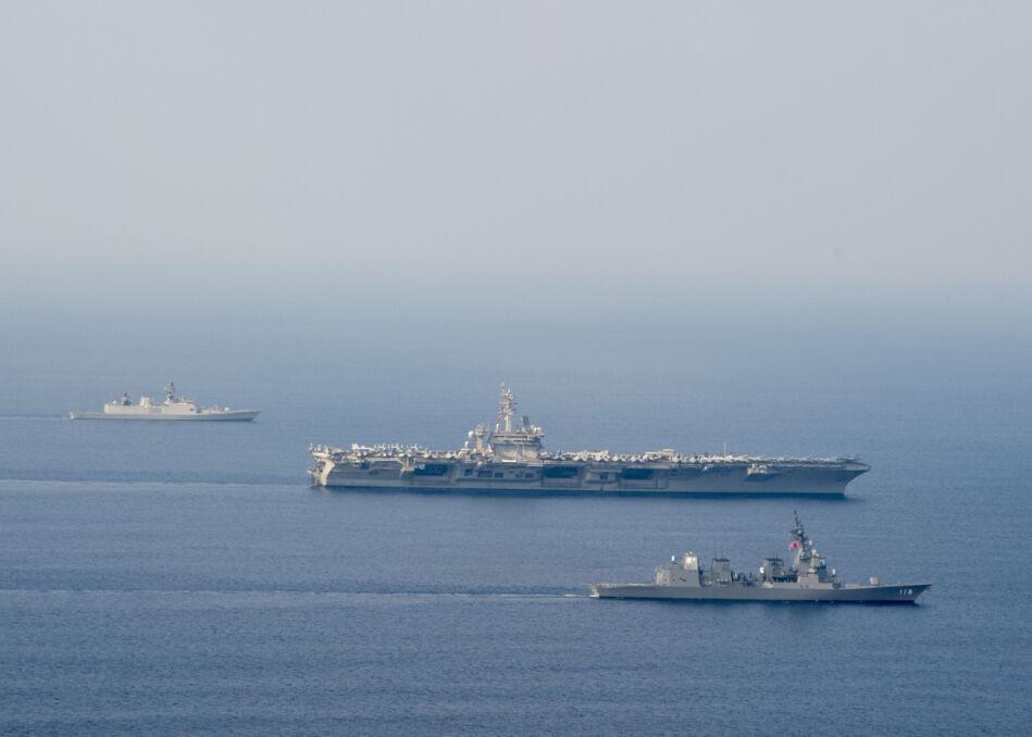 Połączone floty USA, Indii i Japonii powstrzymają Chiny na azjatyckich wodach?