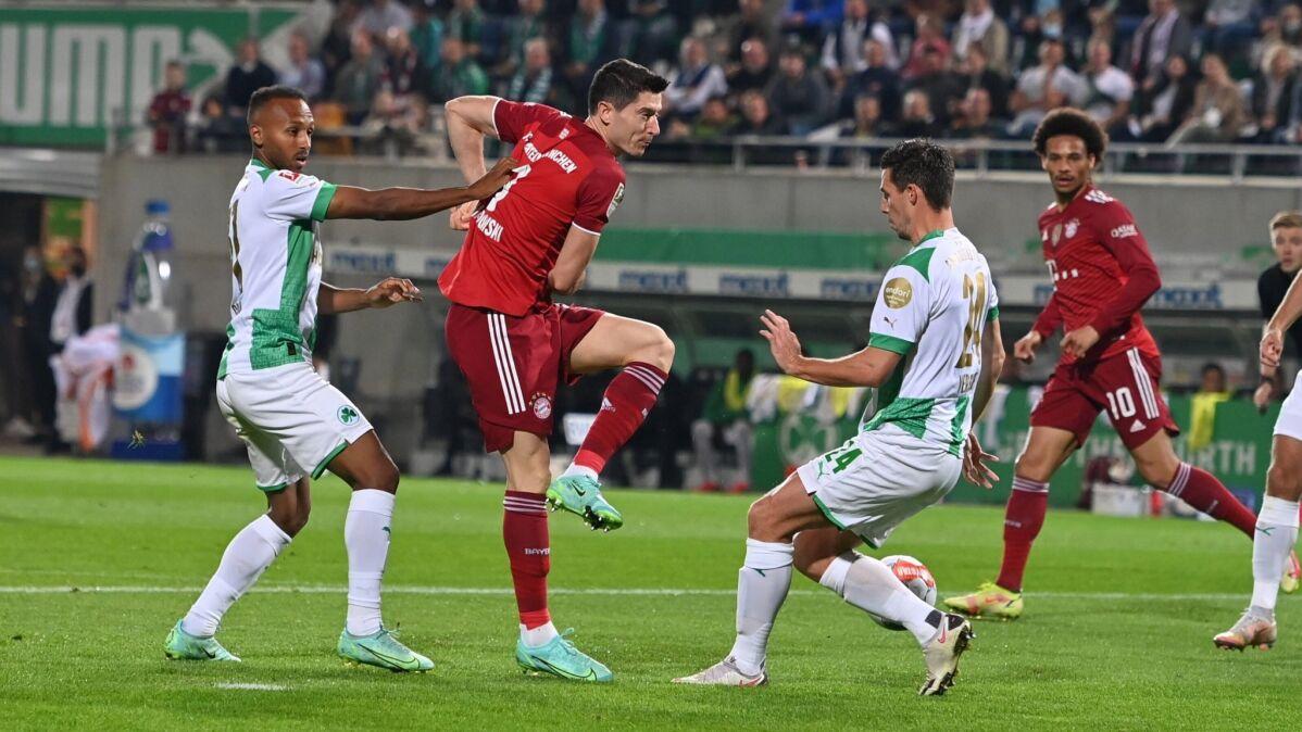Koniec niesamowitej serii Lewandowskiego. Bayern ograł beniaminka