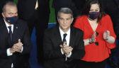Laporta zaprzysiężony na prezydenta Barcelony. Messi obecny