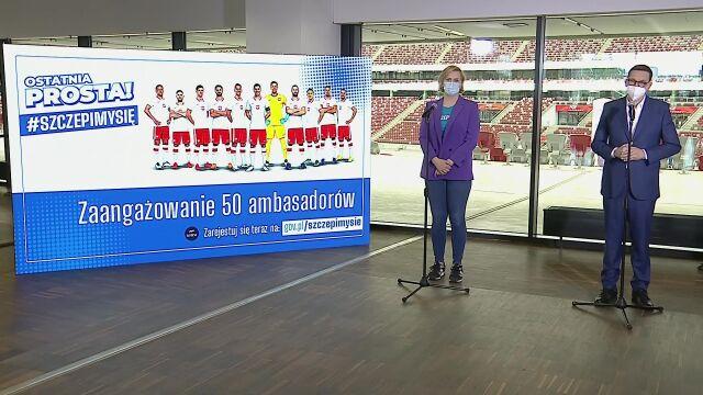 """Polscy sportowcy włączyli się w akcję promującą szczepienia. To """"ostatnia prosta"""""""