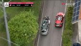 Kolarz potrącony przez samochód zespołu BikeExchange na 6. etapie Giro d'Italia