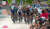 Peleton na mecie 8. etapu Giro d'Italia