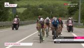 Początek ucieczki na 8. etapie Giro d'Italia