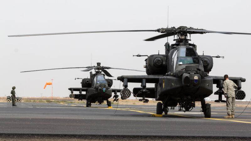 Wspólne ćwiczenia wojsk Arabii Saudyjskiej i USA