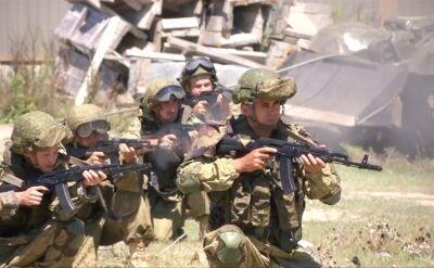 Ćwiczenia rosyjskich wojsk na terene Osetii Południowej