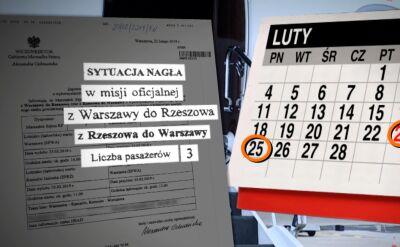 Kancelaria premiera publikuje listy lotów Beaty Szydło i Ewy Kopacz