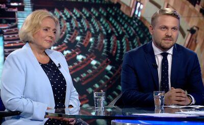 Wanda Nowicka i Jacek Ozdoba o wspólnej liście opozycji do Senatu
