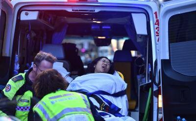 Atak nożownika w Sydney