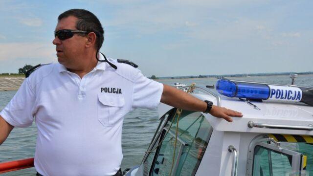 Policjant uratował tonącego ośmiolatka