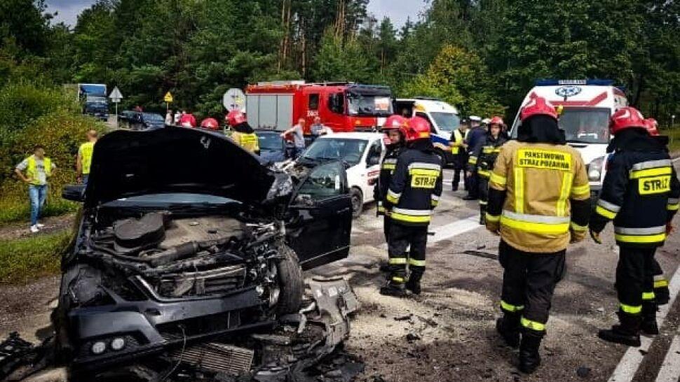 Tragiczny wypadek z udziałem czterech aut, nie żyją dwie kobiety