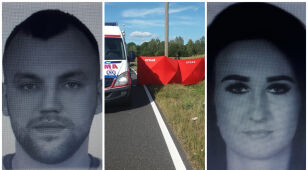 Miał potrącić śmiertelnie motorowerzystę i uciec. Szukają kierowcy i jego towarzyszki