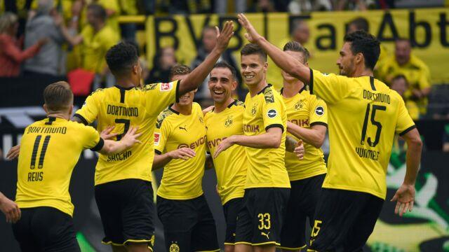 Borussia naprężyła muskuły. Pięć goli na inaugurację