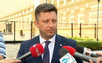 Dworczyk: jesteśmy zdeterminowani, by przepisy przyjąć w tej kadencji Sejmu