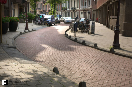 Woonerf w Amsterdamie