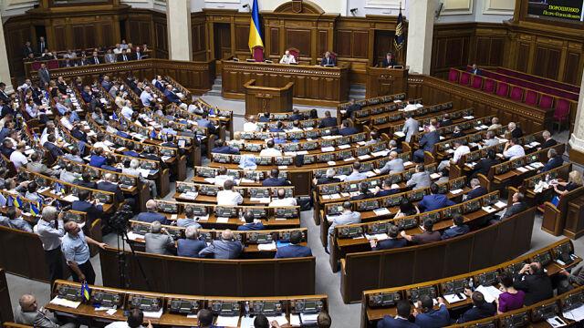 Prezydent Ukrainy rozwiązał parlament. Wybory za dwa miesiące