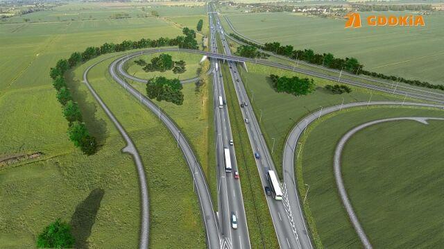 Na 40-kilometrowym odcinku powstaną cztery węzły drogowe