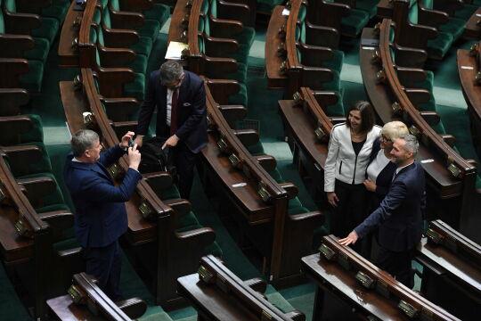 Inauguracyjne posiedzenie Sejmu IX kadencji