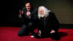 Tarantino i Richardson na kolanach przed widzami