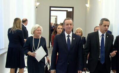 Nowy marszałek Senatu zapowiada politykę otwartych drzwi dla poszanowania konstytucji