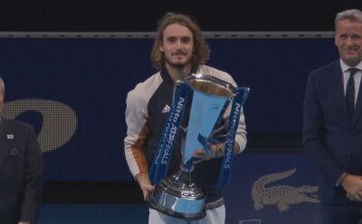 Tsitsipas najlepszy w ATP Finals