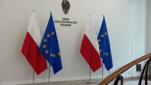 Spór o unijne flagi  w Senacie