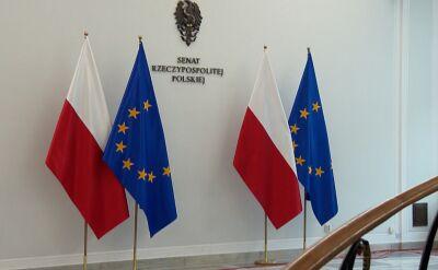 Spór o flagi Unii Europejskiej w Senacie